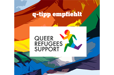 q-tipp empfiehlt Queer Refugees Support Hamburg