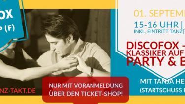 Discofox Workshop am 01.09.19 in der Burg