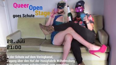 Queer Open Stage goes Schute (Honigfabrik)