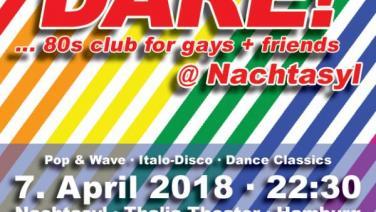 DARE! @ Nachtasyl, Thalia Theater, 80er, 80s, 80th, gay, Pop, Wave, Italo Disco, Dance Classics, Hamburg