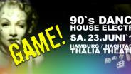 Game, Club, Nachtasyl, Thalia Theater, 90er, 90s, 90th, gay, House, Electro, Dance, Hamburg